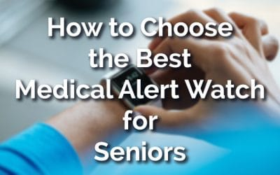 How to Choose the Best Medical Alert Watch for Seniors [2019]
