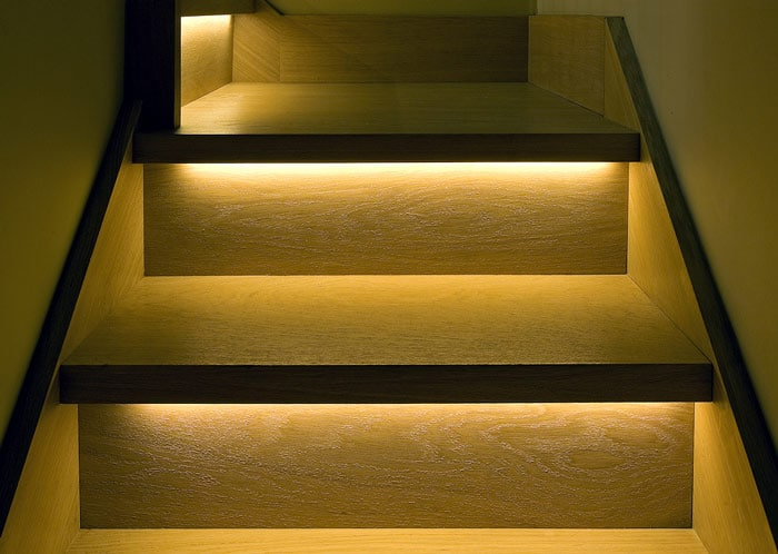 Stairs light for safety