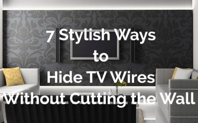 7 Stylish Ways to Hide TV Wires Without Cutting the Wall