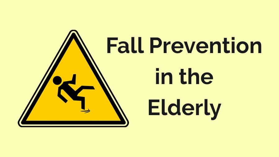 Fall prevention in the elderly at home