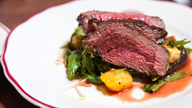 Is it safe to eat rare beef