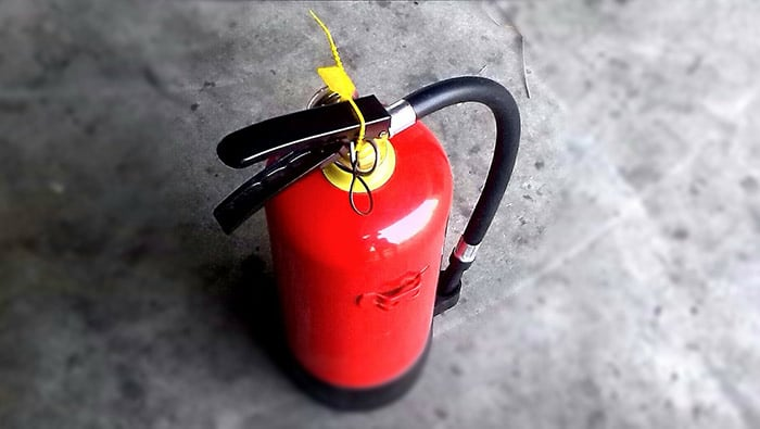 Fire extinguisher - an essential home safety item