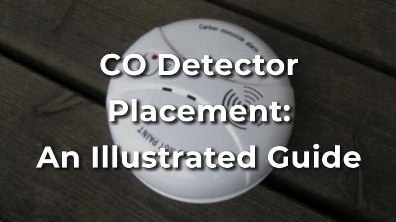 Carbon Monoxide Detector Placement: A Helpful Illustrated Guide