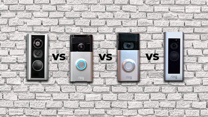 Differences between Ring doorbells and peephole cam