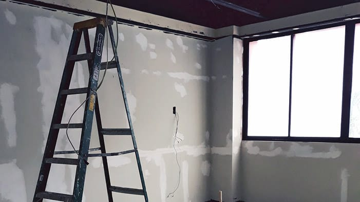 Ladders for interior painting