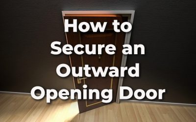How to Secure an Outward Opening Door (Including French & Patio Doors)
