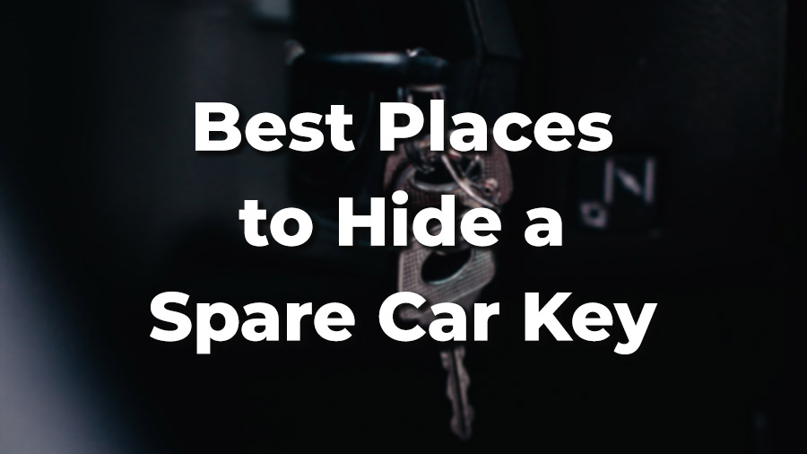 5 Secret Places to Hide a Spare Car Key [On Car and Elsewhere]