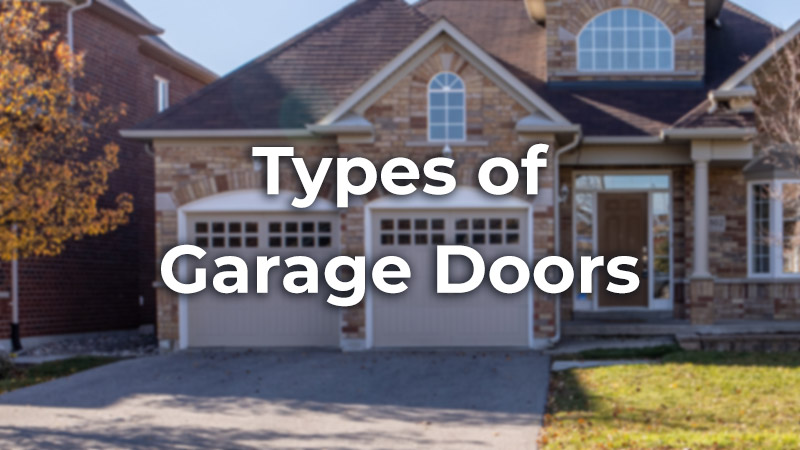 7 Types of Garage Doors (Pros and Cons with Photos)